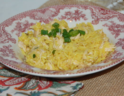 Crockpot Southern Chicken and Yellow Rice with Zatarain's