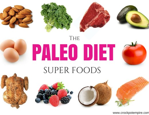 The Paleo Diet Super Foods visual diagram