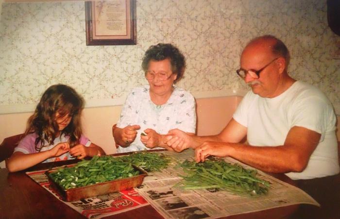 Kim and Grandparents