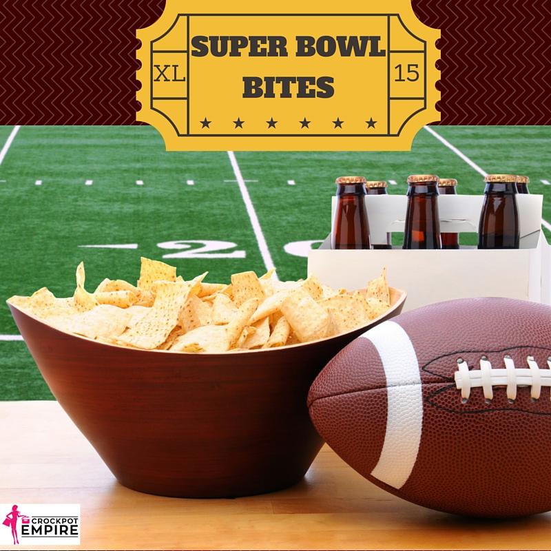 super bowl bites, appetizers