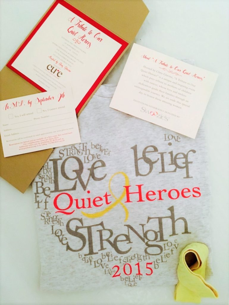 Quiet Heroes Luncheon Cure Childhood Cancer Go Gold Ribbon Crockpot Empire