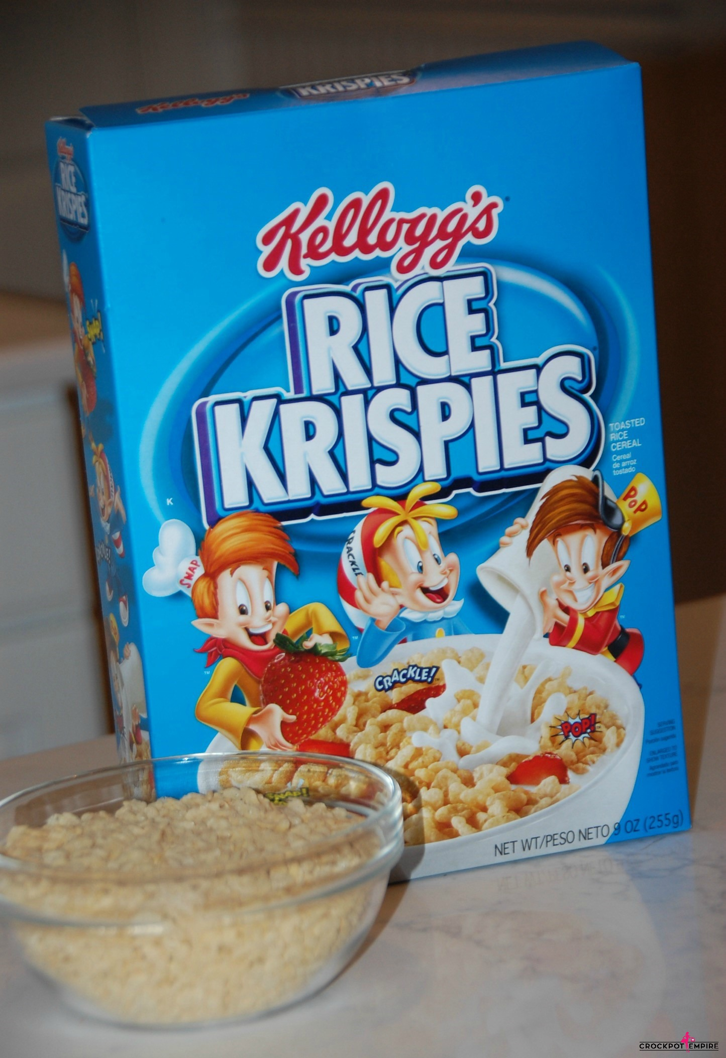 Kellogg's Rice Krispies Treats take on the shape of cute candy corns for kid approved Halloween and Fall snacks