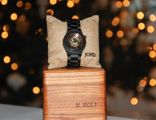 A JORD unique wood watch makes the perfect gift for a guy