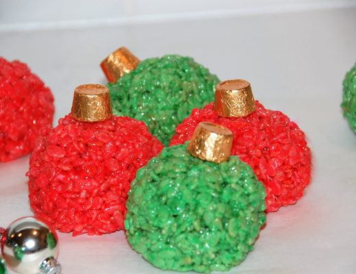 Rice Krispies Treats Ornament Balls