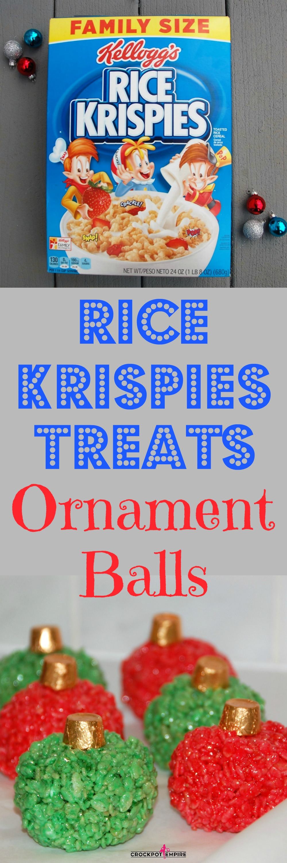 Hero Image Rice Krispies Treats Ornament Balls