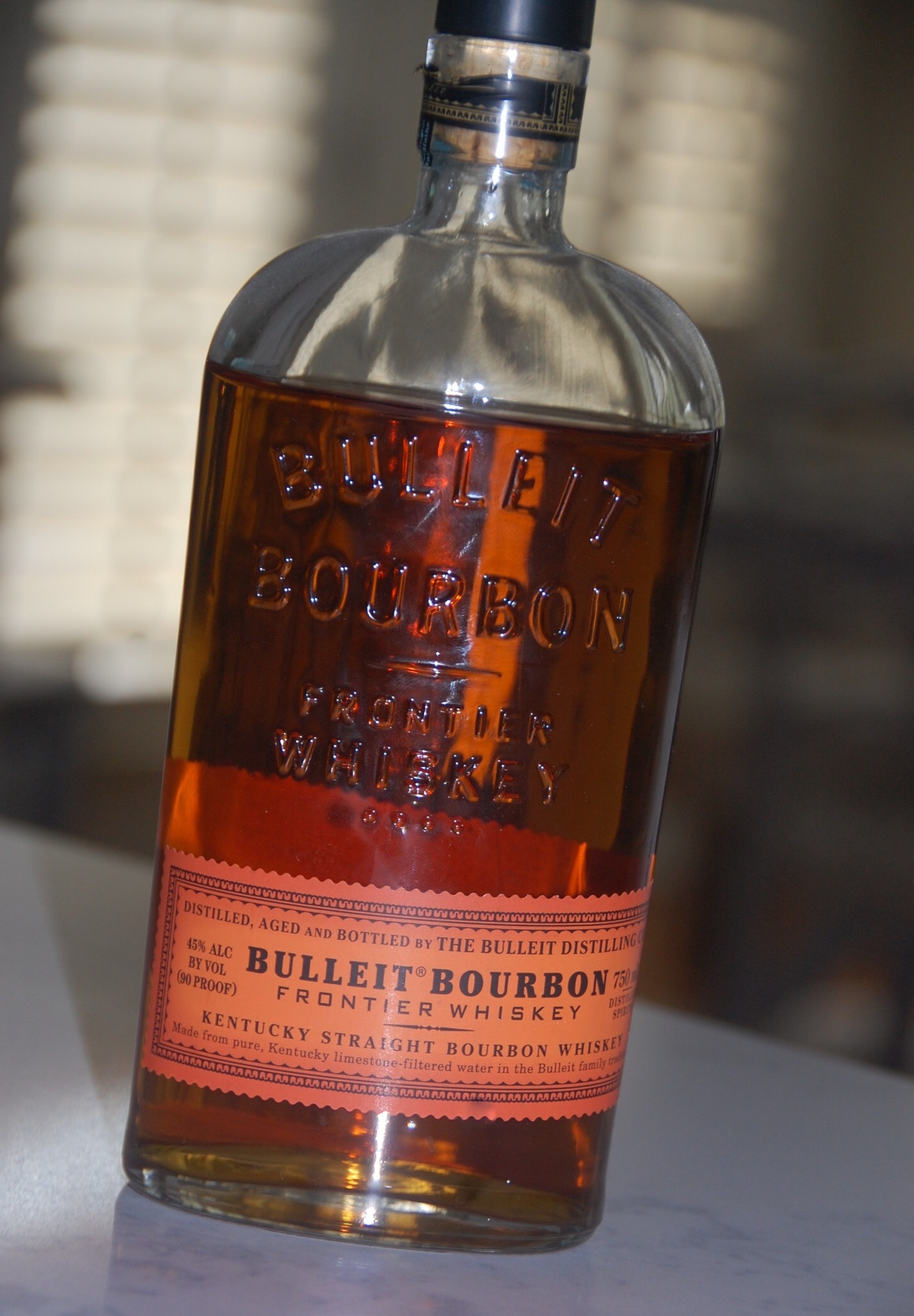 Bulleit Bourbon Frontier Kentucky Bourbon Whiskey the key ingredient to crockpot bourbon chicken recipe