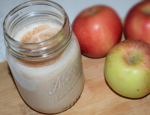 Apple Pie Smoothie on Crockpot Empire