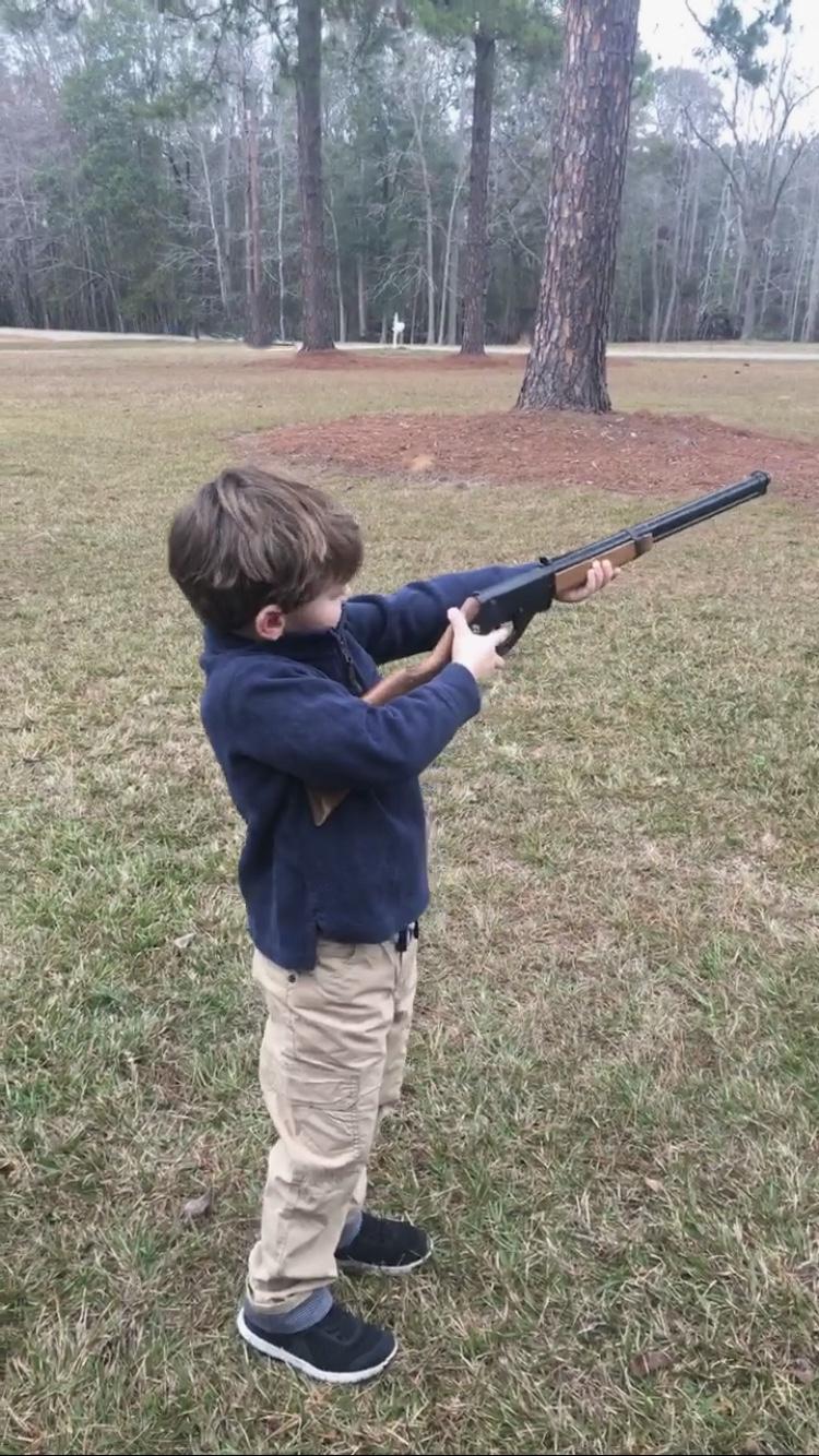 New Year, Same God - Knox Bishop shooting a BB Gun