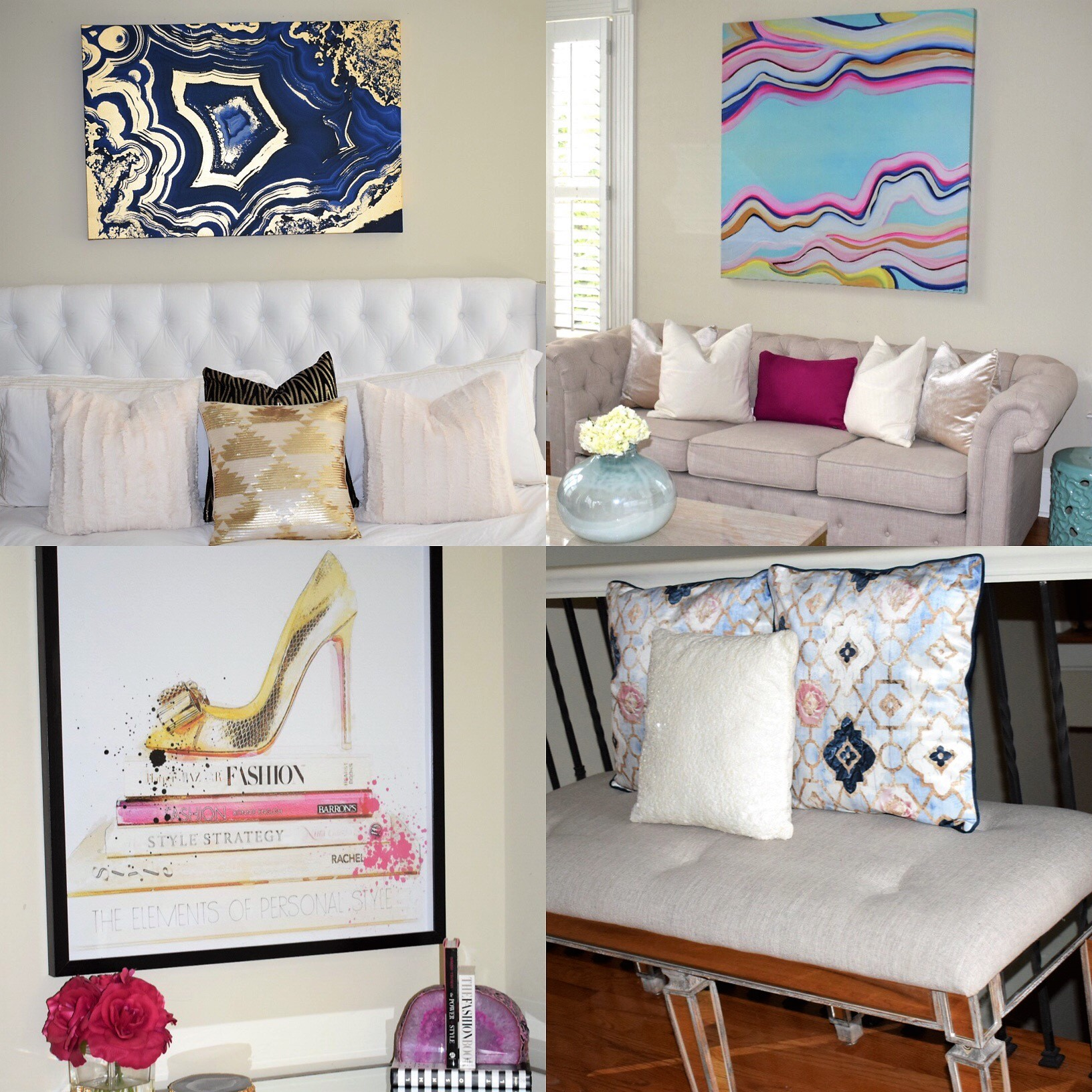 Home Tour Featuring Oliver Gal Artist Co