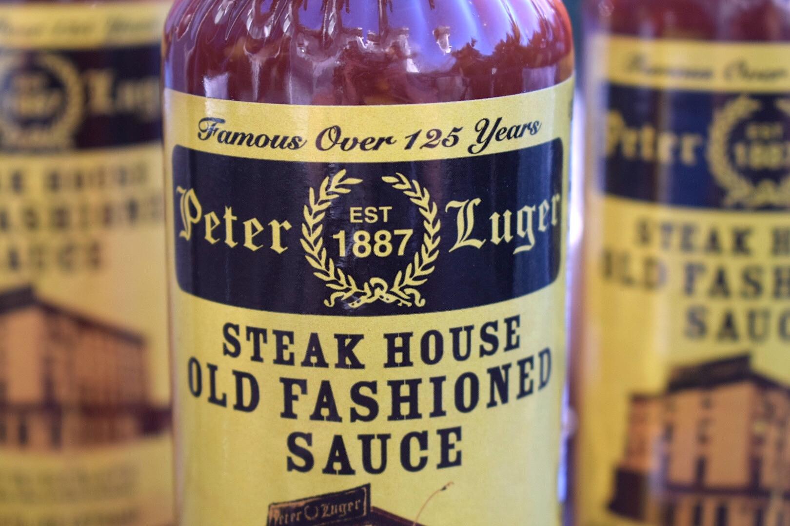 Peter Luger Steak Sauce bottle