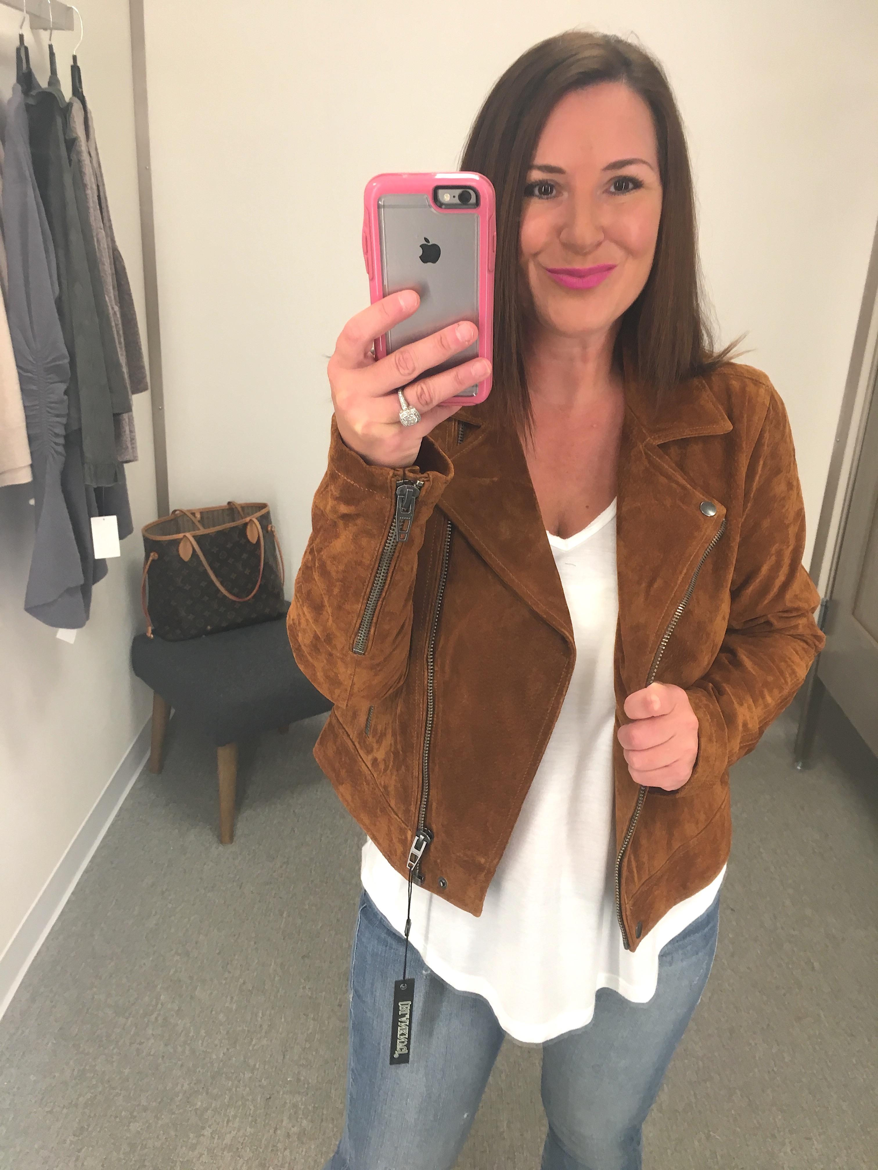Nordstrom Anniversary Sale Suede Jacket