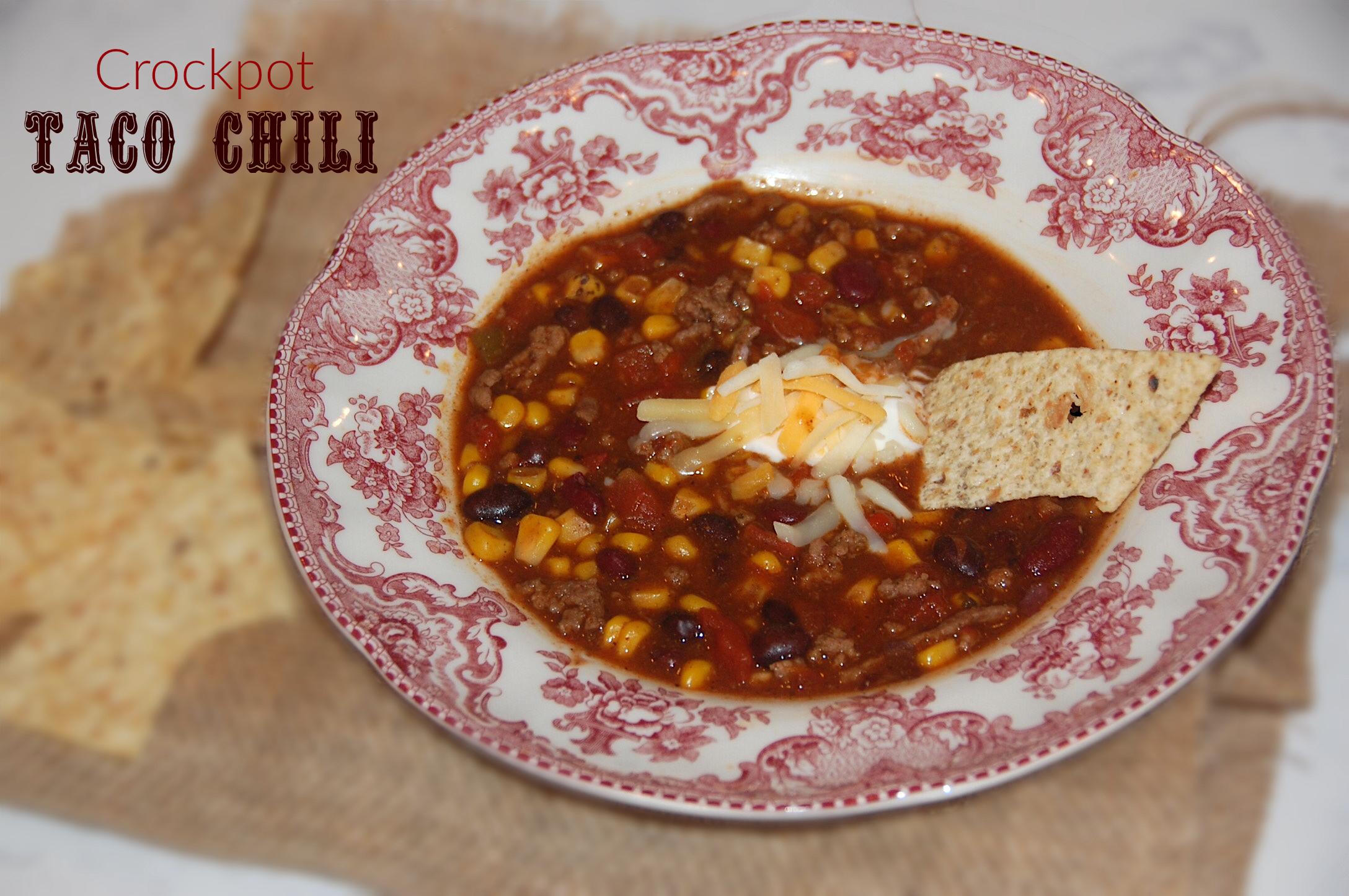Crockpot: Taco Chili 2