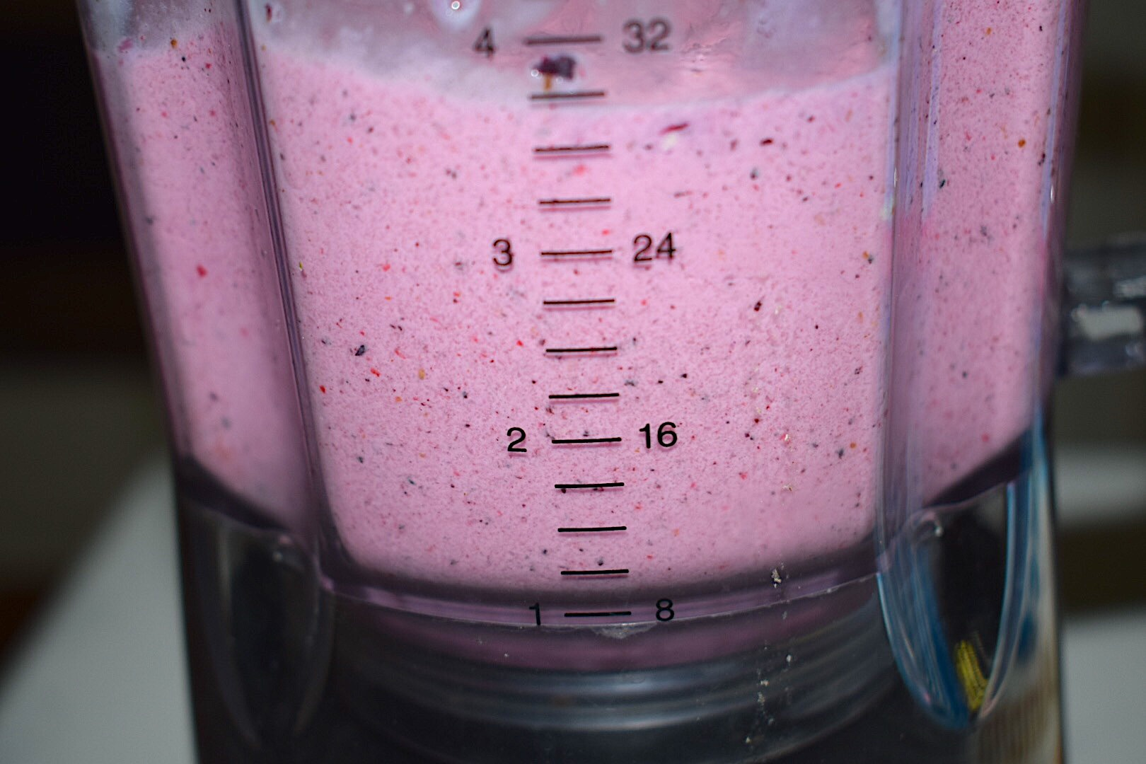 Healthy Almond Milk Berry Smoothie