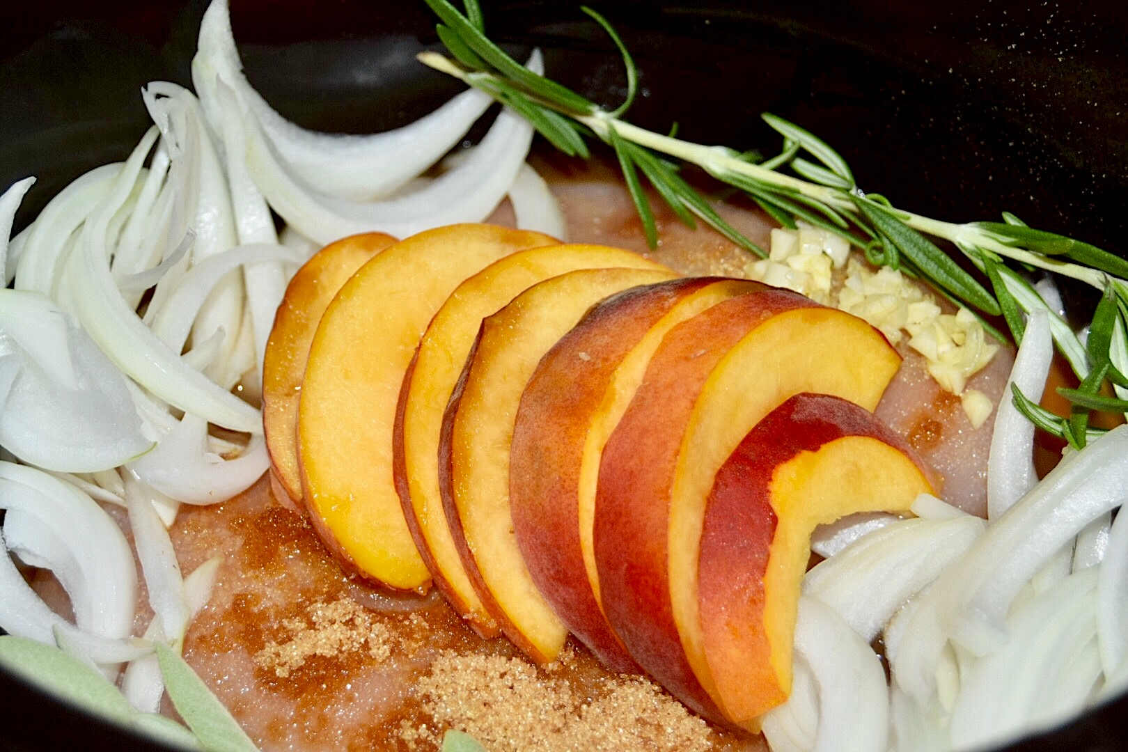 crockpot peach tea chicken recipe with honest tea by crockpot empire #shop #cbias #RefreshinglyHonestSnacks