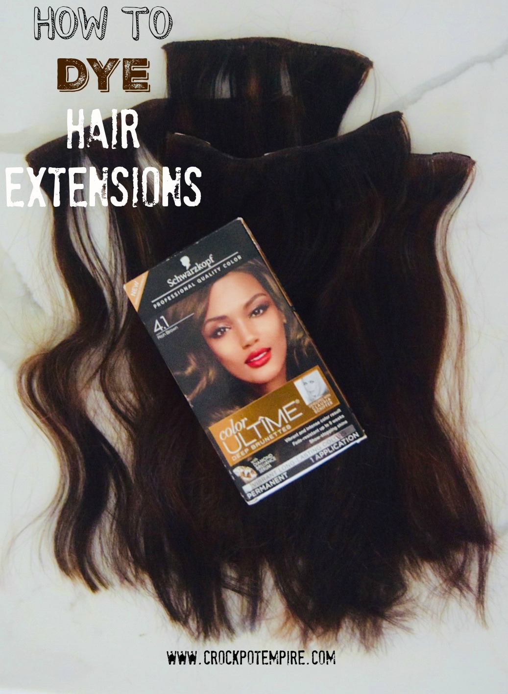 Hair color tips for dyeing your hair at home crockpot empire diy hair tutorial with schwarzkopf color ultime solutioingenieria Images
