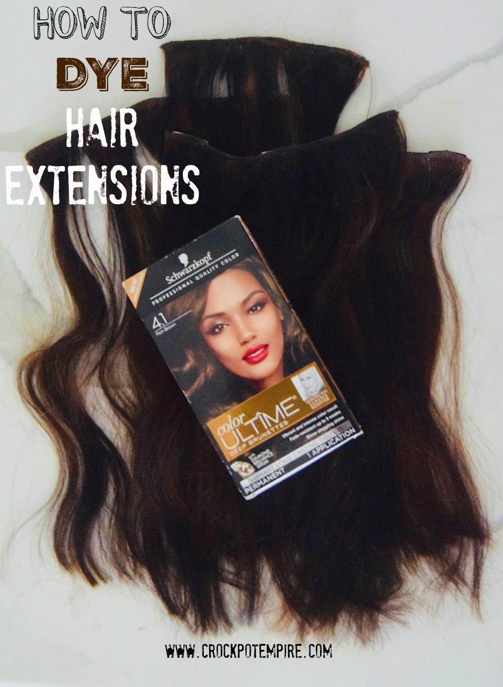 DIY hair tutorial with Schwarzkopf Color Ultime