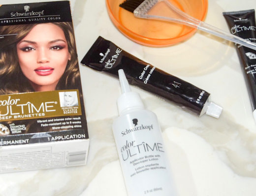 tips for dyeing your hair and extensions at Home using Schwarzkopf Color Ultime box color