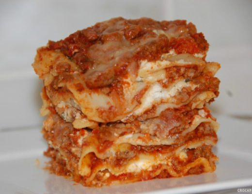 Crockpot Lasagna Slow Cooker Recipe by Crockpot Empire