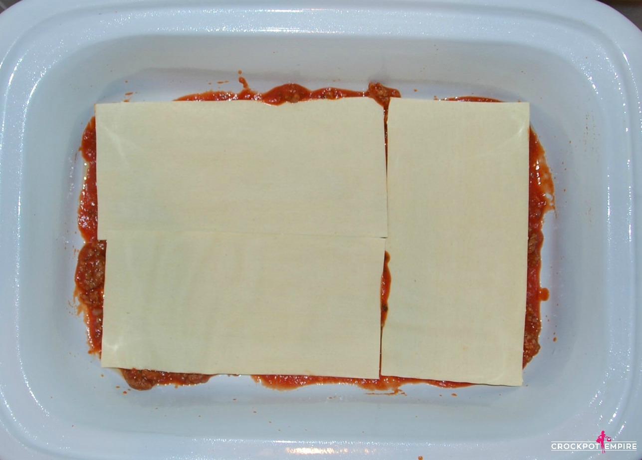 Crockpot Lasagna Slow Cooker Recipe by Crockpot Empire