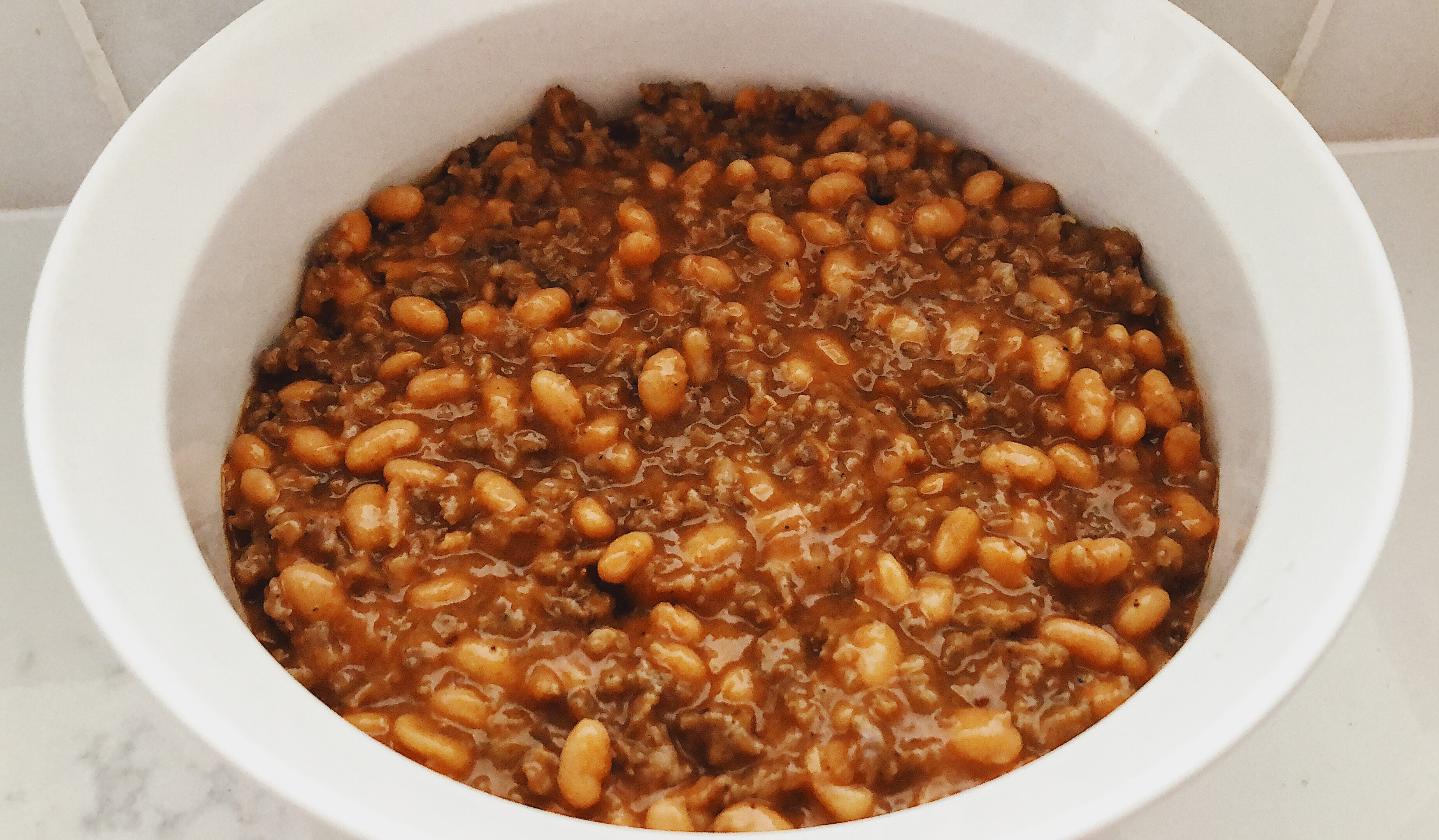 Baked Bean Supreme Casserole Side Dish Crockpot Empire