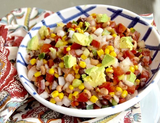 Texas Caviar Dip Appetizer Crockpot Empire