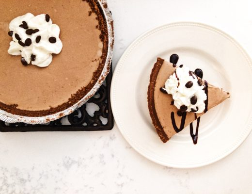 Frozen Mocha Pie Dessert Recipe by Crockpot Empire