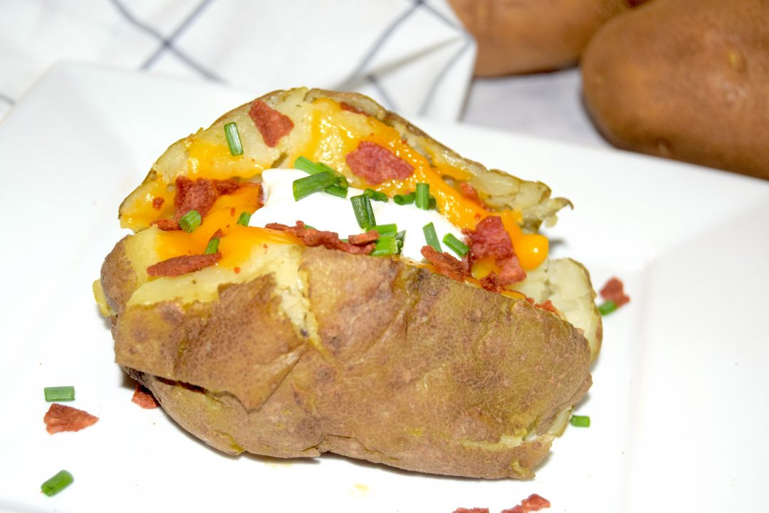 Crockpot Baked Potatoes in the Crock Express