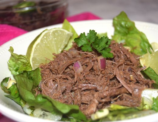 Crockpot Chipotle Barbacoa