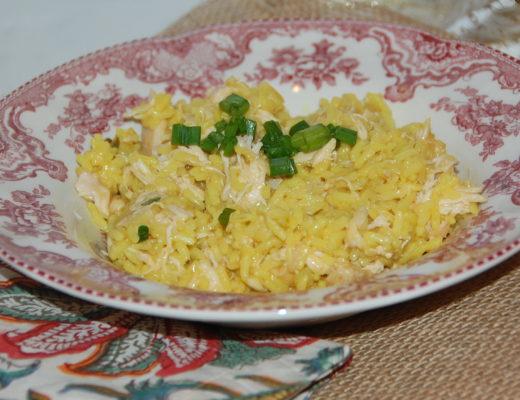 Crockpot Southern Chicken and Yellow Rice with Zatarain's