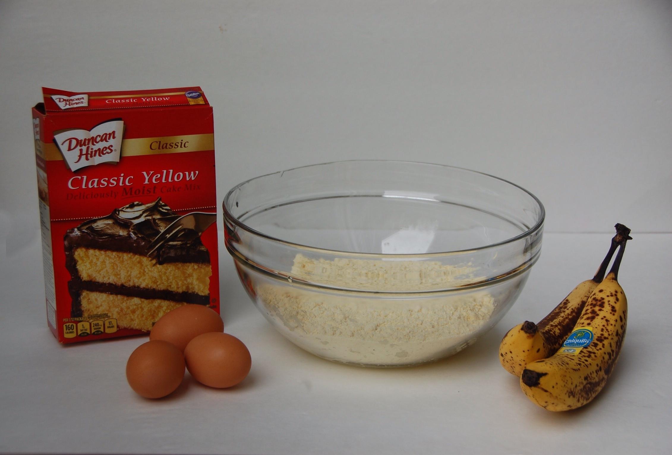 Duncan Hines - Bananas - Muffins - Cake Mix
