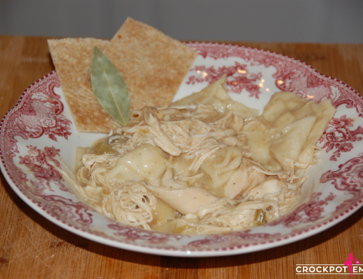 The most delicious crockpot Chicken and Dumplings Recipe