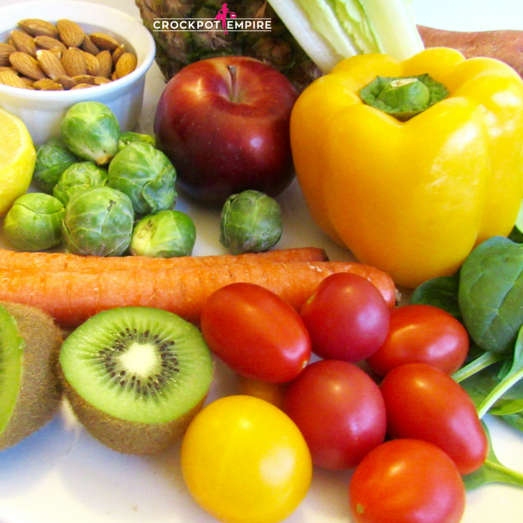 Health and Fitness Challenge-Detox-Fruit and Veggies-Protein-Kate Swain-Healthy Living-Crockpot Empire