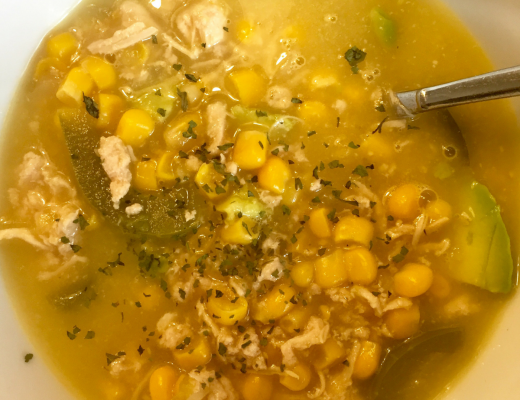 healthy fast mexican chicken soup