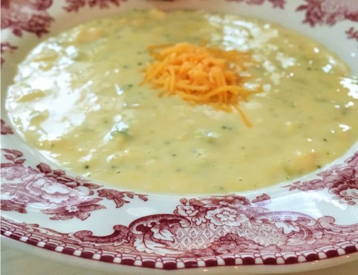 Spicy broccoli and cheese soup that uses a secret ingredient that you will love!
