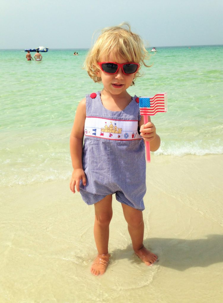 Knox Bishop July Fourth Beach 30A
