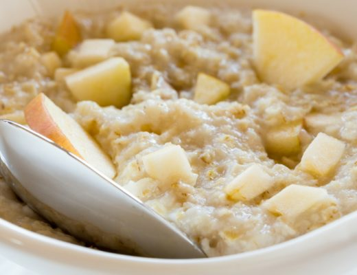 Crockpot steel oats Oatmeal with apples - Crockpot Empire