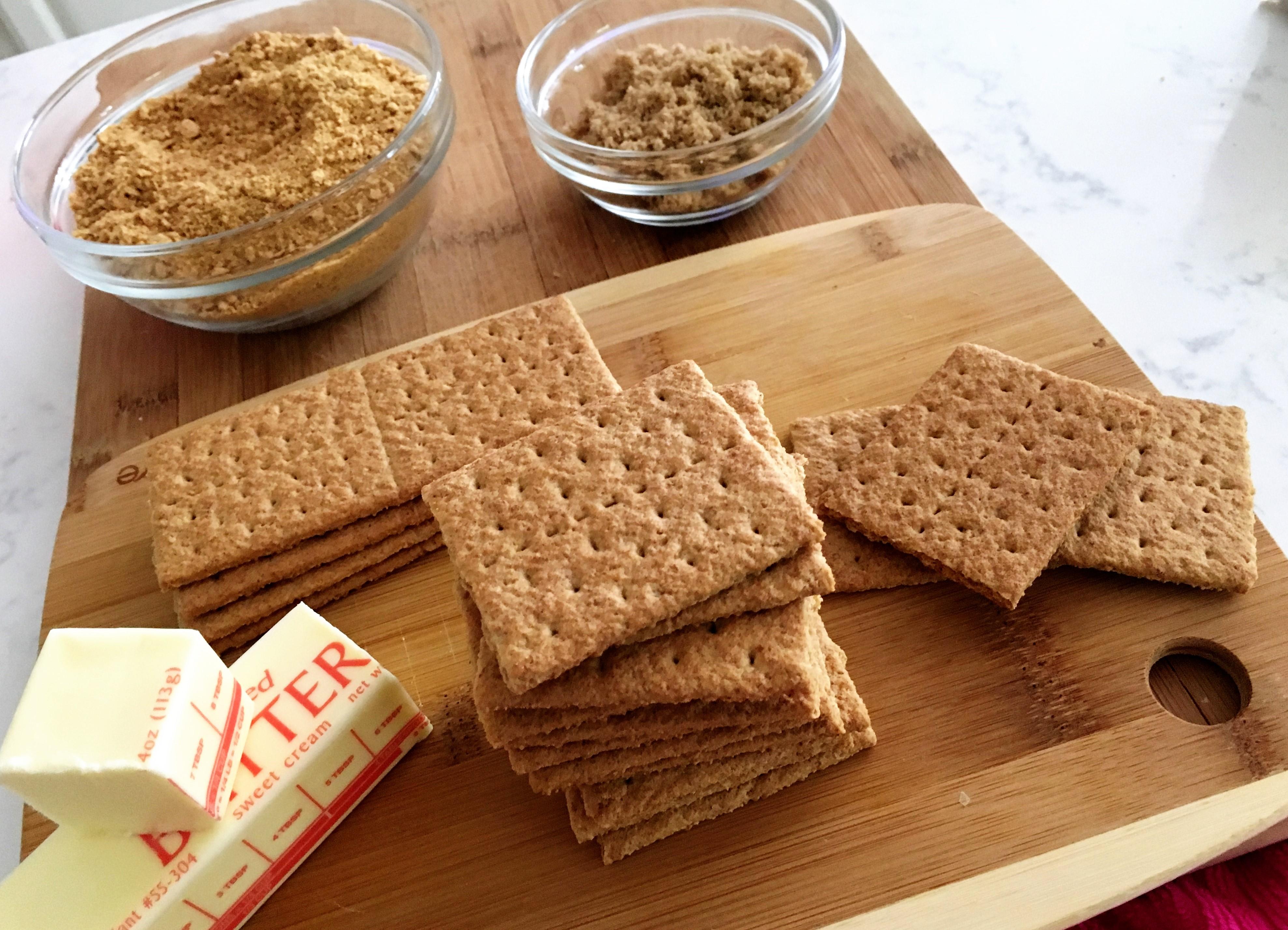 Graham Crackers for homemade scratch Pie Crust