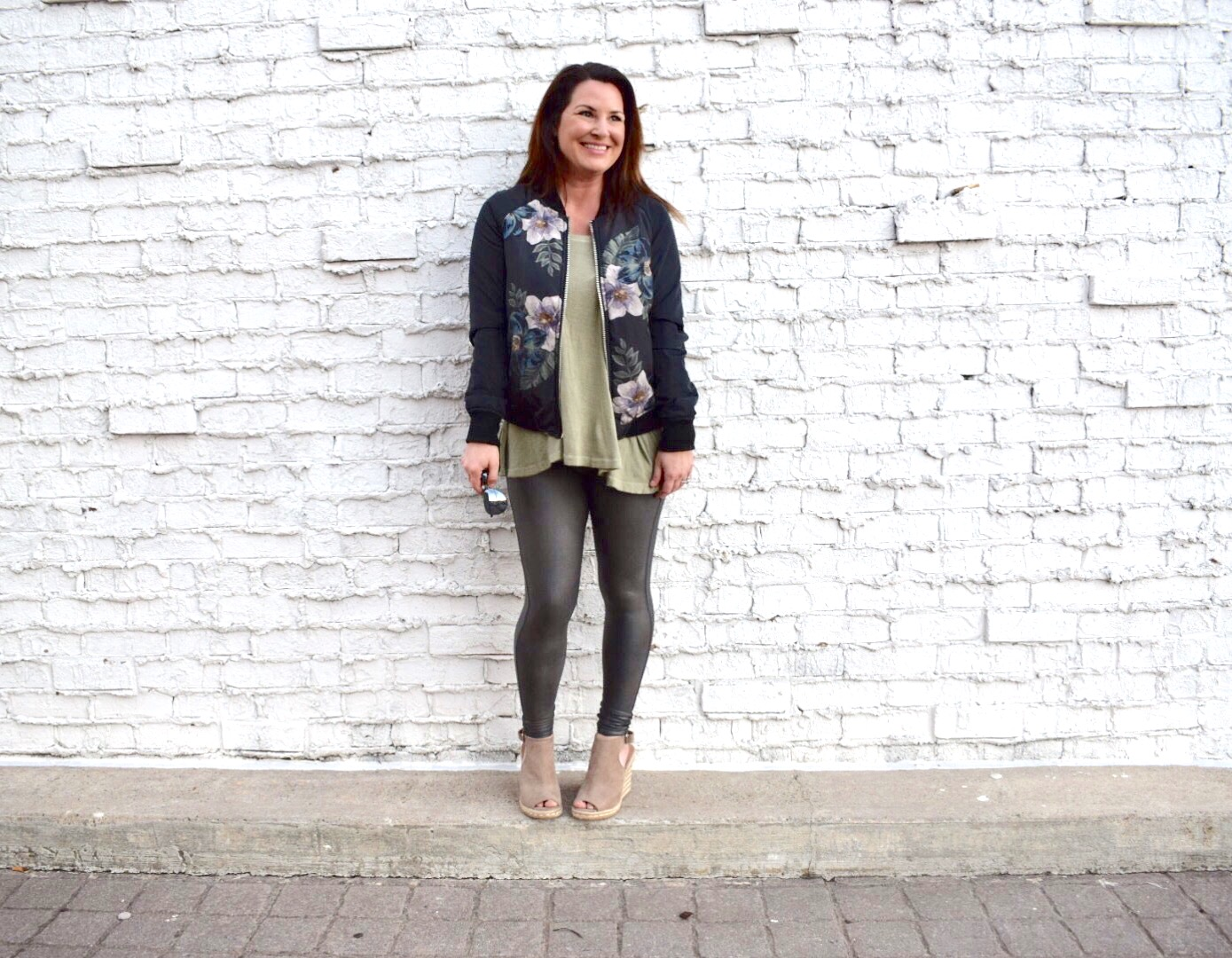 The Bomber Jacket and Gunmetal SPANX