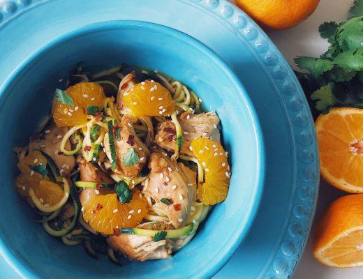 Crockpot or Pressure Cooker Healthy Mandarin Orange Chicken