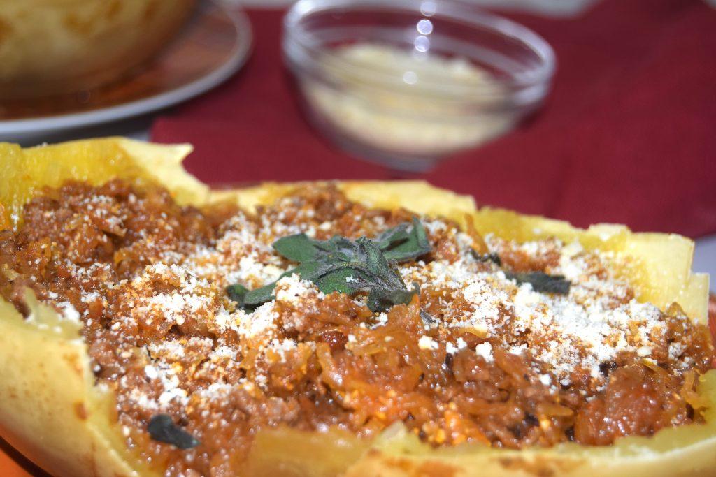 Crockpot Spaghetti Squash Bolognese Crock Express