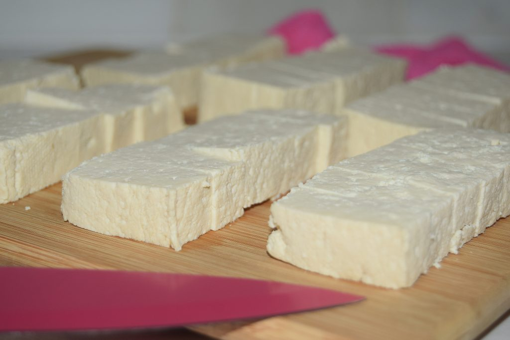 how to make crispy oven baked tofu