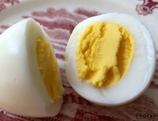 Perfectly Cooked Hard Boiled Eggs in the Crock Express